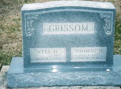 Artemecia DeEtta <I>Winnett</I> Grissom