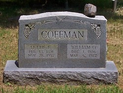 Lettie Ellen <I>Graves</I> Coffman