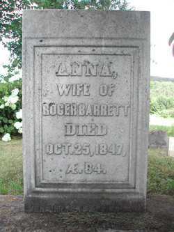 Anna <I>Wilson</I> Barrett
