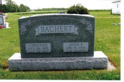 Christine <I>Witt</I> Bachert