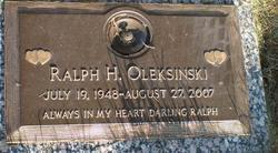 Ralph H Oleksinski