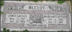 """James Saville """"Jim"""" McCloy"""