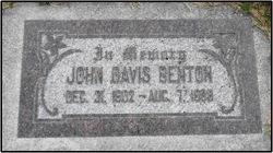 John Davis Benton