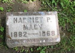 Harriet P Macy