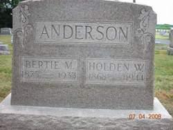 "Lydia Alberta ""Bertie"" <I>Maslin</I> Anderson"