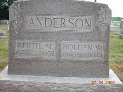Holden W Anderson