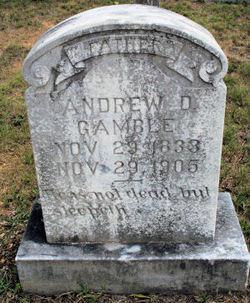 Andrew D. Gamble