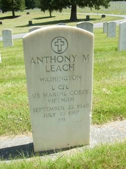 LCpl Anthony M Leach
