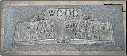 William A Wood