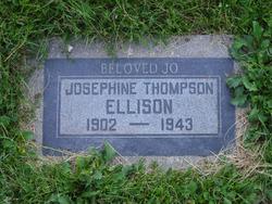 """Josephine Caroline """"Jo"""" <I>Thompson</I> Ellison"""