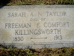 Sarah Ann Narcissa <I>Killingsworth</I> Taylor