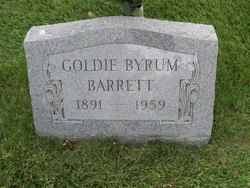 Goldie <I>Byrum</I> Barrett