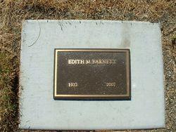 Edith Marie <I>Johnson</I> Barnett