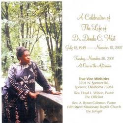 Dr Donda C. <I>Williams</I> West