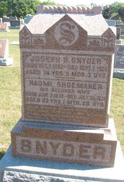 Naomi <I>Shoemaker</I> Snyder