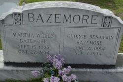 Martha <I>Wells</I> Bazemore