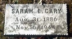 Sarah E. Cary