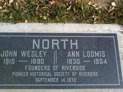 Ann Hendrix <I>Loomis</I> North