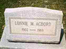 Lonnie Marshall Achord