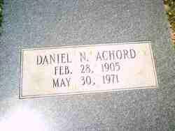 Daniel N Achord