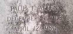 Paul T Allen