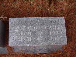 Davie Elaine <I>Coffey</I> Allen
