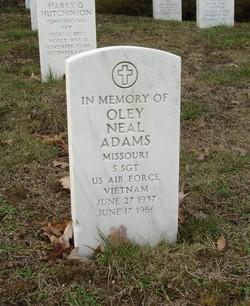 Sgt Oley Neal Adams