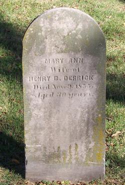 Mary Ann Derrick