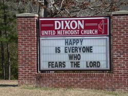 Dixon United Methodist Church Cemetery