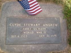 Clyde Stewart Andrew