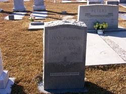Rebecca Jane <I>Parrish</I> Griffin