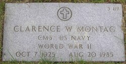 Clarence W Montag