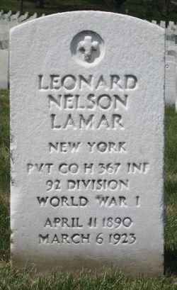 Lenard Nelms Lamar