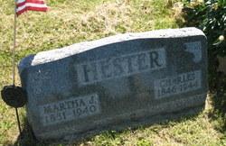 Martha Jane <I>Snyder</I> Hester