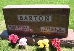 Mary Wylma <I>Harned</I> Barton