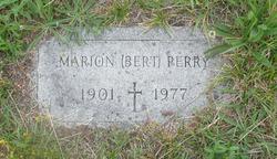 """Marion Agostinho """"Bert"""" Perry"""