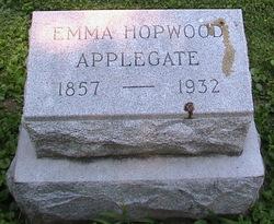 Emma A. <I>Totten</I> Applegate