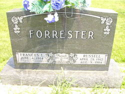 Frances Louise <I>Teagle</I> Forrester