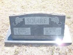 Rosa Jane <I>Fulton</I> Squire