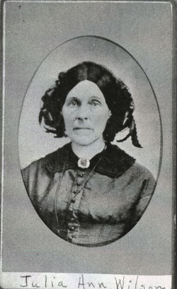 Julia Ann <I>Evertson</I> Wilson