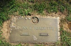 Leona Elizabeth <I>Spencer</I> Burdette