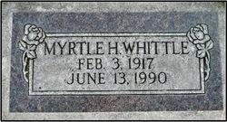 Myrtle Helen <I>Colledge</I> Whittle