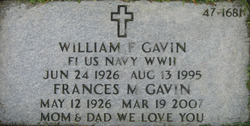 William F Gavin