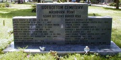 Sidebottom Cemetery at Washburn Point
