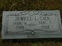 Jewell L. <I>Due</I> Cox