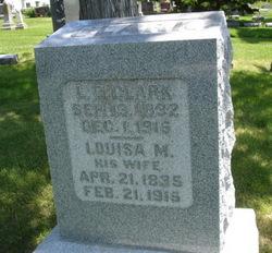 Louisa M <I>Mendenhall</I> Clark