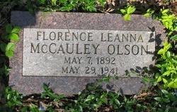 Florence Leanna <I>Olson</I> McCauley
