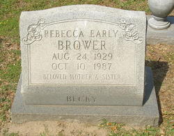 Rebecca <I>Early</I> Brower