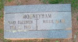 Mary Elizabeth <I>Baker</I> Mooneyham