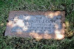"Antoinette J. ""Toni"" <I>Abbeduto</I> Casey"